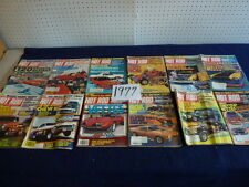 Hot Rod Magazine ( 1977) group of 12 ...complete year...fair shape