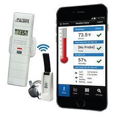 926-25100-WGB La Crosse Alerts Mobile™ Temperature & Humidity Monitor & Alert