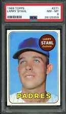 1969 Topps #271 Larry Stahl Padres PSA 8