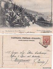 # PORTO MAURIZIO: GIARDINI DI VIA GENOVA   1905