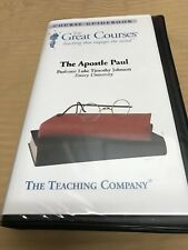 1 GREAT COURSES  THE APOSTLE PAUL ON 6 CASSETTES COMPLETE