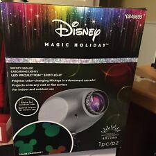 Christmas Disney Magic Holiday Mickey Mouse Led Projection Cascading Mickey Head