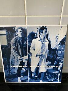 style council cafe bleu Limited Edition Blue Vinyl