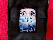 Zippo Mazzi Cleopatra Blue Blau Airbrush NEU inkl. Zertifikat Sammlungsauflösung