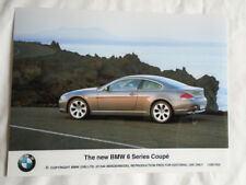 BMW 6 Series Coupe press photo Jul 2003 v2