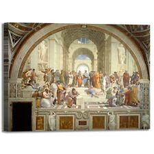 Raffaello La Scuola di Atene quadro stampa tela dipinto telaio arredo casa