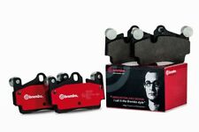 Brembo Brake Pad Set (Low-Met) P23002 fits Fiat X 1/9 1.3, 1.5