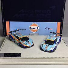 1/43 Peako Mclaren MP4-12C GT3 Macau GP 2014 Danny WATTS & R. Ian MEINS Set