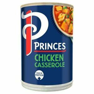 PRINCES CHICKEN CASSEROLE TIN| 6 x| 392g -   nov 2022