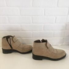 Hushpuppies Suede Heeled Boots size 9