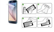 NOVAGO® 3 Films protection écran traitement anti rayure pour Samsung Galaxy S6