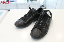 """Excellent Condition"" Prada Kayak Black Leather Sneaker 4E 1835 US size 10"