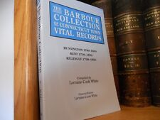 Barbour Collection Connecticut Town Records Huntington -Kent -Killingly Genealog