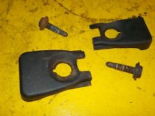 (4pc) 99-05 Pontiac Grand AM Coupe GT Front Seat Mounting Bolts & Black Trim OEM