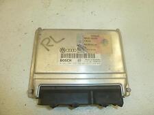 99 AUDI A4 Engine Brain Box ECU PCM ECM Elec Cont Unit 1.8L Automatic AT #9695