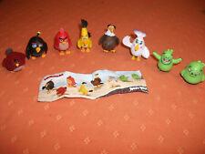 PAW Patrol Sammelfiguren Kids World Angry Birds 8 Stück komplett Konvolut NEU !