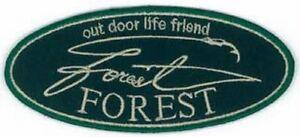 FOREST Wappen 45mmx100mm Green