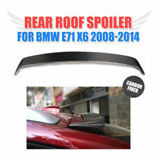 for BMW E71 X6 SUV 2008-2014 Carbon Fiber Rear Roof Wing Spoiler Top Window Lip