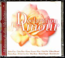 DECLARATION D'AMOUR - 20 FACONS DE DIRE JE T'AIME - CD COMPILATION [2341]