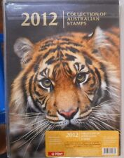 2012 Australia Post Deluxe STAMP YEAR Album Collection, With Stamps. MUH