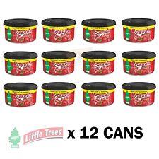 Little Trees CHERRY BLAST Car AIR Freshener Can (12 Pack) OFFICE TRUCK Winnebago