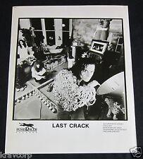 LAST CRACK--C. 1990 PUBLICITY PHOTO