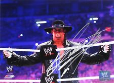 WWE UNDERTAKER HAND SIGNED AUTOGRAPHED PHOTOFILE PHOTO WITH EXACT PIC PROOF 10