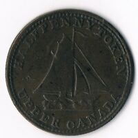 Province of Upper Canada  1/2d  1820 UC-9A4 'Commercial Change'