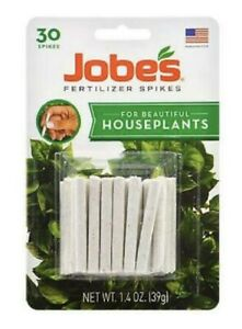 Jobe's HOUSEPLANT & ALL Outdoor Plants Fertilizer {{ 30 PACK }} Food Spikes ~