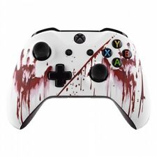 """""""White Bloody"""" Xbox One S Rapid Fire Modded Controller for ALL SHOOTER GAMES MW"""