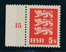 Estonia 1928, Mi. 77 MNH thin paper, first edition, very fine