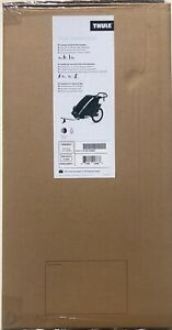 Thule Chariot Cross 1 Compact Fold Single Baby Multisport Bicycle Trailer Blue