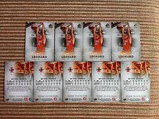 9-Card Lot Meyers Leonard RC Illinois Fighting Illini 2012-13 SP Authentic #21