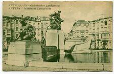 CPA - Carte Postale - Belgique - Anvers - Monument Lambermont- 1927 ( DD7276)