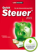 QuickSteuer 2021 (für Steuerjahr 2020), Download, Windows