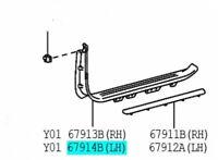 TOYOTA 67920-60011-A0 Front Door Scuff Plate LH Land Cruiser Genuine OEM Parts