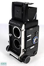 Mamiya C330 Black Medium Format TLR Camera Body With Waist Level Finder