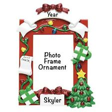 Red Picture Frame Personalized Ornament