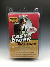 "Top Paw Easy Rider Car Or Walking Dog Harness Pet Seat Belt Girth Size 20"" To 30"
