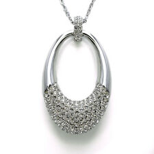 Swarovski Crystal Degree Medium Pendant Necklace - $149 5153581
