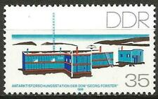 Germany (East) DDR GDR 1988 MNH - Georg Forster Antarctic Reseach Station