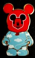 Disney Pin 63504 Vinylmation Mystery Pin  Park #1 Red Balloon Mickey Chaser