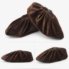 Household Washable Overshoes Reusable Non-slip Shoe Covers Dustproof Flannel GR