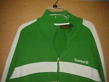 TIMBERLAND MEN'S  Zip Up Green Track Jacket SIZE XXL