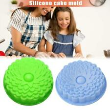 3D Silicone Big Flower Fondant Cake Mold Decor Sugercraft Baking Accessories