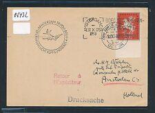 06432) KLM FF Amsterdam - Tripoli 4.11.58, Karte ab Ramstein BRD Jugend