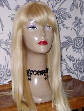 Real Ladys100% Human Hair Wigs Ladies Wig Blond 27 - 613 SALE ITEM