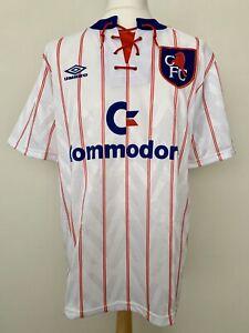 Chelsea FC 1992-1994 away football shirt jersey maillot camiseta trikot maglia