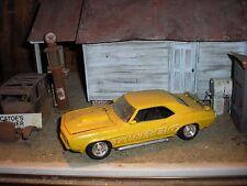 1/24 1/25 1969 Chevy Camaro SS RS Turbo Z-28 4 junkyard diorama fresh barn find