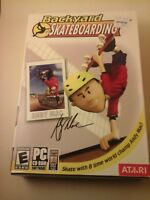 Backyard Skateboarding 2005 PC Game by Atari NEW factory sealed in box, Andy Mac